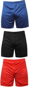 Sports Polyester Multi-colour Shorts,Swimming Shorts,Gym Shorts,Barmunda Set 3