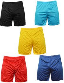 Sports Polyester Multi-colour Shorts,Swimming Shorts,Gym Shorts,Barmunda Set 5