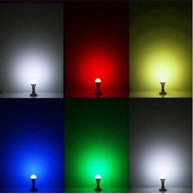 NIPSER 9 Watt Color LED Bulb ( Pack of 6 )