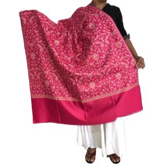 Krish Jamawar Shawl Stole Pink For Women