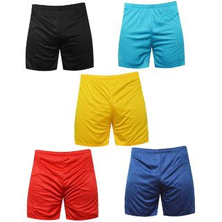 Sports Polyester Multi-colour Shorts,Swimming Shorts,Gym Shorts,Barmunda Set 5