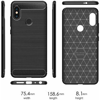 Exclusive Hybrid Back Cover for  Redmi Note 5 Pro - Shockproof, Rugged Armour