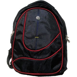 HP Entry level 15.6 inch Laptop Backpack  Black  Red