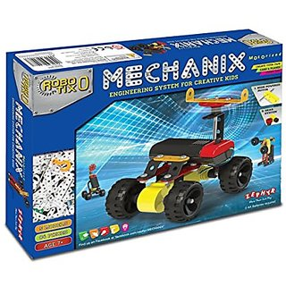 Shribossji Mechanix Robotix Building Kit Creativity Loaded For Kids Metal Learning Toy (Multicolor)