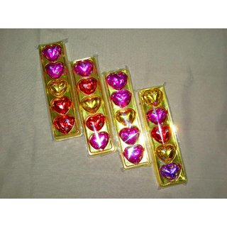 4 pack heart shaped chocolates