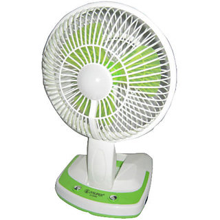 Rechargeable Ac/Dc 2 Speed Table Fan with 21SMD LED lights JY Super 5590