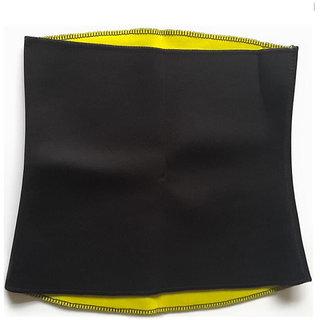 Unisex Shapewear Black Yellow Unisex Hot Shaper Tummy Tucker Belt (Pack of 1) SC 01