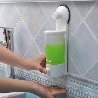 Single Suction Cup Soap Dispenser