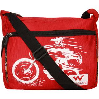Bum Bat Collection Men Women Casual Red, Black Polyester Sling Bag