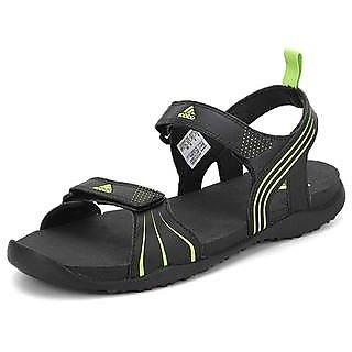 0032ef31ae558 Adidas Men s Hewis Black Floaters