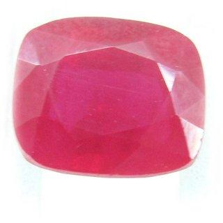 Ceylon Sapphire 6.46 Ratti Ruby Gemstone (Manik Stone) Cushion cut