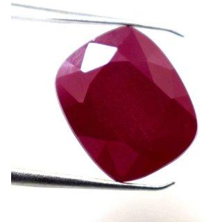 Ceylon Sapphire 8.27 Ratti Ruby Gemstone (Manik Stone) Cushion cut