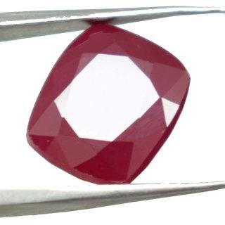 4.19 Ratti Manik Stone (Ruby) Cushion cut by Ceylon Sapphire