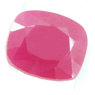 Ceylon Sapphire 10.11 Ratti Ruby Gemstone (Manik Stone) Cushion cut