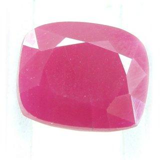 Ceylon Sapphire 10.35 Ratti Ruby Gemstone (Manik Stone) Cushion cut