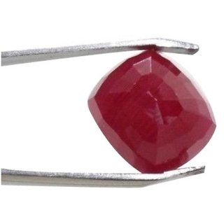 5.1 Ratti Manik Stone (Ruby) Cushion cut by Ceylon Sapphire