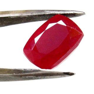 10.46 Ratti Manik Stone (Ruby) Cushion cut by Ceylon Sapphire