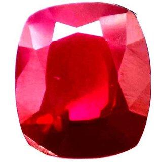 10.8 Ratti Manik Stone (Ruby) Cushion cut by Ceylon Sapphire