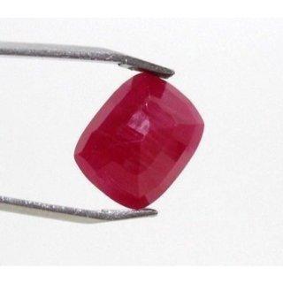 11.65 Ratti Manik Stone (Ruby) Cushion cut by Ceylon Sapphire