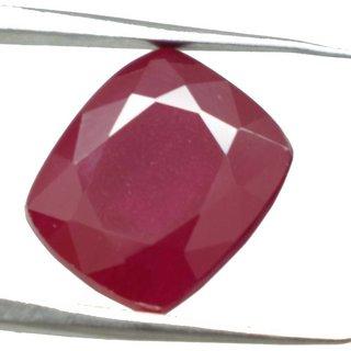 Ceylon Sapphire 11.95 Ratti Ruby Gemstone (Manik Stone) Cushion cut