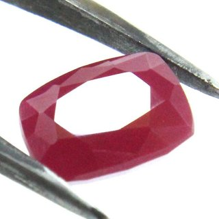 7 Ratti Manik Stone (Ruby) Cushion cut by Ceylon Sapphire