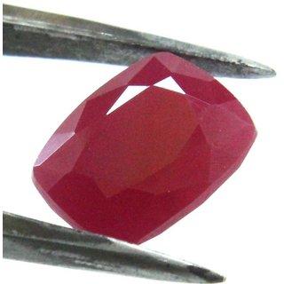 7.03 Ratti Manik Stone (Ruby) Cushion cut by Ceylon Sapphire