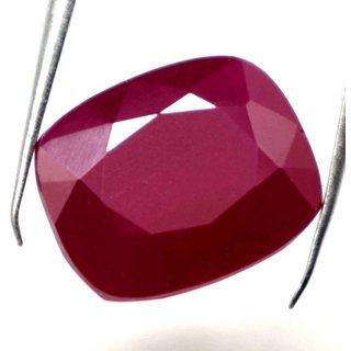 7.25 Ratti Manik Stone (Ruby) Cushion cut by Ceylon Sapphire