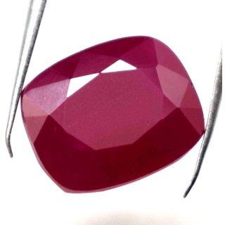 7.39 Ratti Manik Stone (Ruby) Cushion cut by Ceylon Sapphire