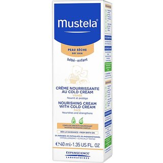 Mustela Bebe Nourishing Cream with Cold Cream - 40ml (1.35oz)