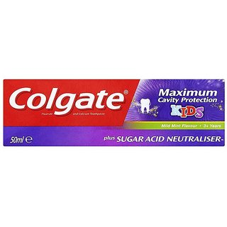 Colgate Maximum Cavity Protection Kids Toothpaste (3+Y) - 50ml- Mild Mint