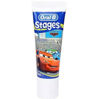 Oral-B Pro-Expert Stages Toothpaste 75ml - Fruit Burst (Cars)