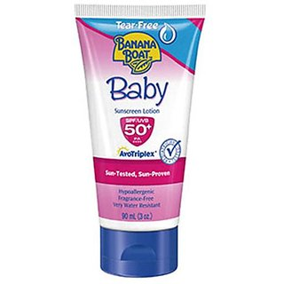 Banana Boat Baby Sunscreen Lotion SPF50 - 90ml (3oz)