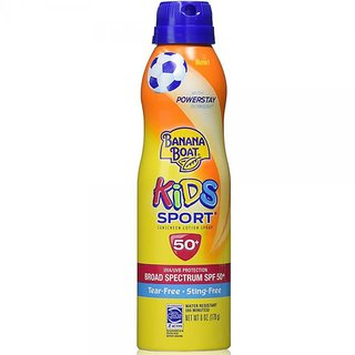 Banana Boat Kids Sport Continuous Lotion Spray Sunscreen SPF50+ - 170g (6oz)
