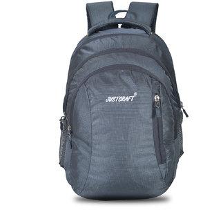 7cd41c52498d Buy Justcraft Rider Grey 30 Ltr Laptop Backpack Online - Get 29% Off