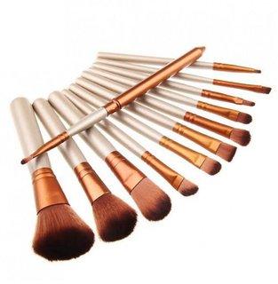 Cosmetic Makeup Brush Set - 12 Pcs Set