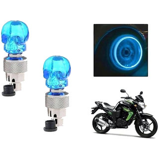 STAR SHINE BIKE BLUE SET OF 2 STYLISH  TYRE LED  For Royal Bullet  Thunder Bird 350