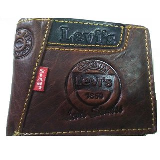Genuine Leather Casual  Formal Wallet Money Purse for man