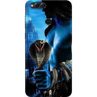 pretty nice 53062 7ee51 PEEPAL Honor 7x Designer & Printed Case Cover 3D Printing Lord Shiva Design