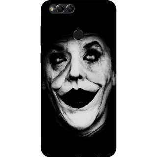 PEEPAL Honor 7x Designer & Printed Case Cover 3D Printing Joker Design
