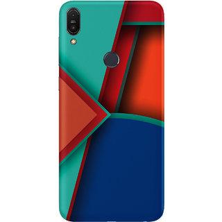 PEEPAL Asus Zenfone Max Pro M1 Designer & Printed Case Cover 3D Printing Art Multi Colour Design