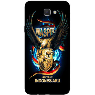 PEEPAL Samsung Galaxy J7 Prime Designer & Printed Case Cover 3D Printing Eagle Warrior Design