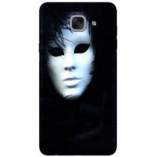 PEEPAL Samsung Galaxy J7 Max Designer & Printed Case Cover 3D Printing Masks Design