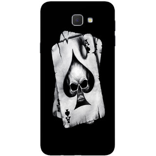 PEEPAL Samsung Galaxy J7 Prime Designer & Printed Case Cover 3D Printing Ghoost Card Design