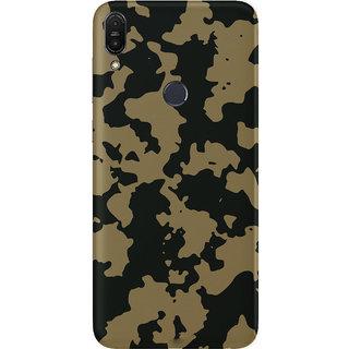 PEEPAL Asus Zenfone Max Pro M1 Designer & Printed Case Cover 3D Printing Military Design