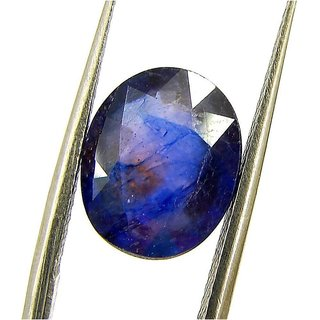 Ceylon Sapphire 9.39 Ratti Blue Sappihre Gemstone (Neelam stone) IGL Certified