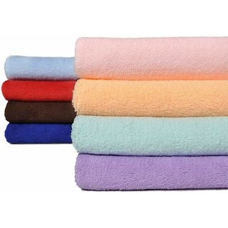 Minder New Blended Pure Cotton Extra Super Soft Embroided Face Towel - Fancy Handkerchiefs ( Pack Of 12 Pcs. )
