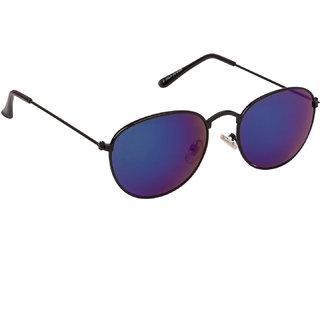 3daa63a553 Arzonai Jones Mirrored Oval Shape Black-Green UV Protection Sunglasses For  Men   Women