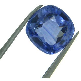 7.65 Ratti Blue sapphire (Neelam) Cushion cut IGL Certified