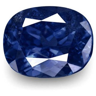9 Ratti Blue sapphire (Neelam) Cushion cut IGL Certified