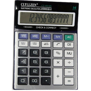 Calculator CT 9914N Big Size Display Auto Reply Feature Business Calculator Size 22 x 17 x 3 c.m